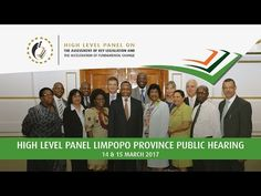 1. Opening remarks 09h00 – 09h05 (5 min) 2. Opening by Chairperson of the High Level Panel 09h05 – 09h10 (5 min) 3. Invited categories of stakeholders presentations (Working Group 3) 09h10 – 10h20 (70 min) 4. Members of the public engagement (Working Group 3) 10h20 – 11h30 (70 min) 5. Invited categories of stakeholders presentations (Working Group 1) 11h30 – 12h40 (70 min)