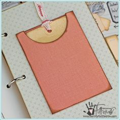 Scoop Pocket Steel Rule Die | Tammy Tutterow Spellbinders | www.tammytutterow.com