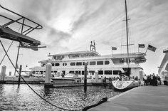 Tampa Wedding Venue Yacht StarShip - Blue and White Downtown Tampa Waterfront Florida Destination Wedding - Tampa Wedding Photographer Angel He Photography - Marry Me Tampa Bay Wedding Blog