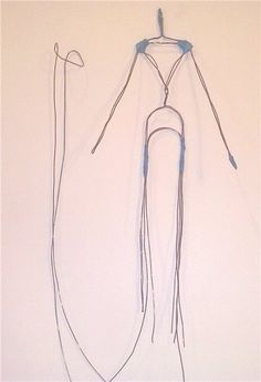 Создание проволочного каркаса для авторской куклы - Ярмарка Мастеров - ручная работа, handmade