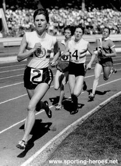 Diane Leather, First women runner to break 5 min mile!