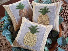 Pineapple Bowl Filler Pillow Tucks by rustiquecat on Etsy  https://www.etsy.com/listing/224185606/pineapple-bowl-filler-pillow-tucks