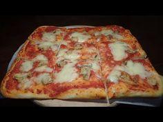 LA PIZZA FATTA IN CASA, LEGGERA CON POCO LIEVITO - Ricetta perfetta - YouTube Pizza E Pasta, Focaccia Pizza, Pizza Rustica, Vegan Pizza, Antipasto, Pizza Dough, Cheese Recipes, Original Recipe, Cupcake Cakes