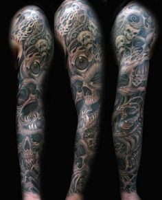 close up sleeve tattoos - Google Search