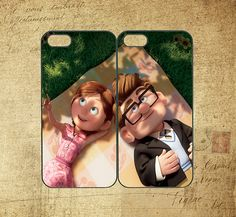 Carl and Ellie ,samsung S3 case,samsung S4 case,note 2 case,ipod 4 case,ipod 5 case,iphone 4 case,iphone 5 case,Any two can match on Etsy, $27.88