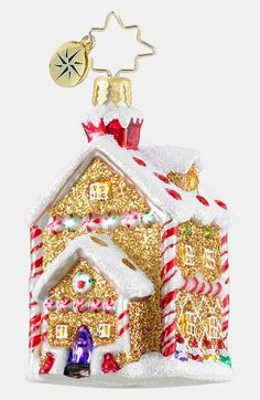 Christopher Radko 'House of Sweets' Ornament