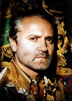 Gianni Versace  (Dec. 2, 1946 – July 15, 1997)  He was regarded as the first fashion designer to recognize and embrace the importance of contemporary culture on fashion, filling the audiences of his shows with celebrities like Elton John and Madonna, and crafting his advertising campaigns around erotic imagery, rather than merely clothing.
