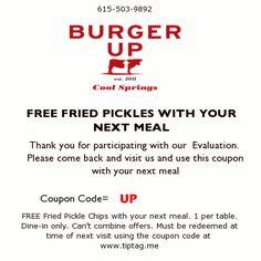 Burger up cool springs
