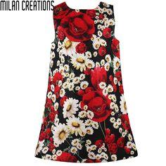 $16.45 (Buy here: https://alitems.com/g/1e8d114494ebda23ff8b16525dc3e8/?i=5&ulp=https%3A%2F%2Fwww.aliexpress.com%2Fitem%2FMilan-Creations-Princess-Dresses-Girls-Clothes-2016-Brand-Baby-Girls-Dress-Summer-Floral-Pattern-Kids-Dresses%2F32591770767.html ) Milan Creations Princess Dresses Girls Clothes 2016 Brand Baby Girls Dress Summer Floral Pattern Kids Dresses for Girls Costumes for just $16.45