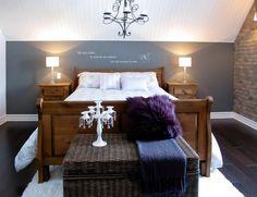 Schlafzimmer Dachschräge Wandfarbe #1