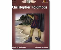 History Hands On - Christopher Columbus by Mary Tucker. Columbus Day books for kids.