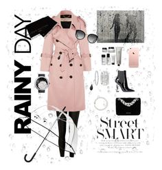 """Rainy day"" by eviiiblabla on Polyvore featuring Mode, River Island, Yves Saint Laurent, Bobbi Brown Cosmetics, Burberry, Dolce&Gabbana, Kate Spade, La Prairie, Louis Vuitton und Chanel"