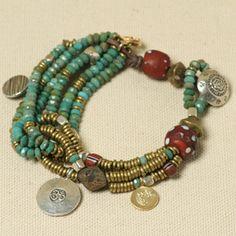 Tutorial for Across Cultures bracelet - very pretty!  #handmade #jewelry #DIY