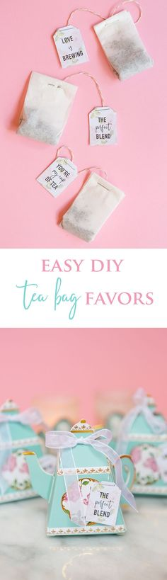 Come learn how we transformed coffee filters into DIY tea bag wedding favors. Your guests will thank you every time they brew a cup!