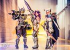 [Self] Project Leona Headhunter Caitlyn and Project Fiora byThe Three Queens cosplay