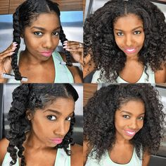 38 best Braid Out images on Pinterest in 2018 | Braid out natural ...