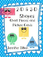 kindertrips  2-D and 3-D Shapes Unit