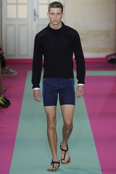 Acne Studios spring summer 2012 http://www.style.com/fashionshows/review/S2012MEN-ACNE