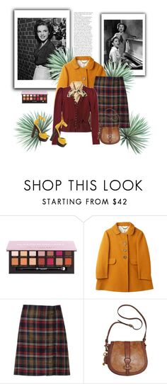 """""""Old Times"""" by norse-goddess ❤ liked on Polyvore featuring Anastasia Beverly Hills, A.P.C., Gucci, FOSSIL, Luichiny and Agave"""