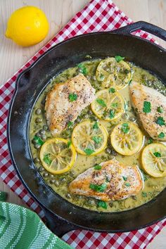 Chicken Piccata: 2 chicken breasts, (butterflied and pounded thin), salt & pepper to taste, 1 tbs olive oil, 1 tbs butter, 1 clove garlic chopped, 1/4 c dry white wine, 1/2 c chicken broth, 1 tsp of lemon juice, 1 tsp of honey, 2 tbs capers, 1 tbs butter, 1 tbs chopped parsley