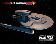 Star Trek starships | Copernicus Ncc 1893 Star Trek Ships Wallpaper 6248542 Fanpop