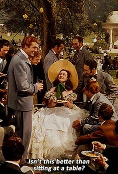 None in the South have ever had more fun than the cotton plantation aristocracy at a lawn party.