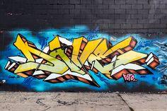 New York Street Art Bushwick Brooklyn by DomiRchx