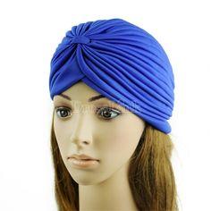 US$ 1.40 Unisex Indian Style Stretchable Style Turban Hat #fashion#girls#dresslink