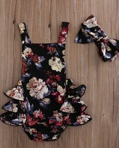 Magdalena Floral Ruffle Romper - Baby Club – online baby clothes stores where you can find fashionable baby clothes. There is a kid and baby style here. Source by babyshopclothing - Storing Baby Clothes, Cute Baby Clothes, Baby Girl Clothes Summer, Cute Baby Stuff, 18 Month Girl Clothes, Winter Baby Clothes, Vintage Baby Clothes, Summer Baby, 2017 Summer