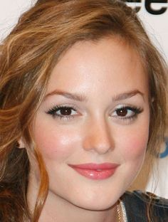 Leighton Meester flawless makeup