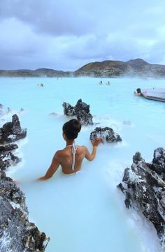 Places to visit: Blue Lagoon. If you are looking for places to visit: La Laguna Azul put it in your preferences. Places Around The World, Oh The Places You'll Go, Travel Around The World, Amazing Places To Visit, Wonderful Places, Beautiful Places To Travel, Best Places To Travel, Best Vacation Places, Destination Voyage