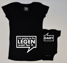 CHRISTMAS IN JULY Legendary Himym Maternity set by geeklingdesigns, $42.50