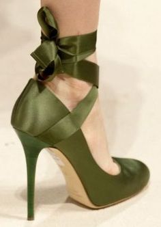 Military Army Green Shoes