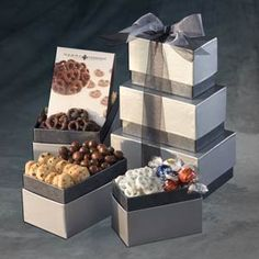 Sterling Silver Corporate Holiday Gift Tower