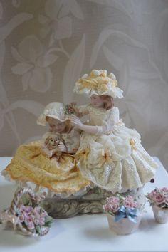 Porcelánové panenky * Dresden