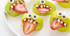 Halloween is creeping closer by the day and we've hunted down some seriously scary and healthy Halloween food that your tiny terrors will love.