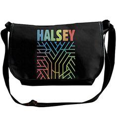 Halsey Badlands Album Mystery Men Women Travel Shoulder Handbag Messenger Bags