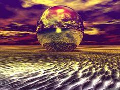 Digital Art - Sand Orb =)
