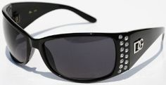 DG Womens Designer Sunglasses With Rhinestones Shades
