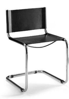Mart Stam Cantilever Chair 155. comes in white