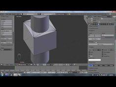 Blender tutorial : Boolean modifier