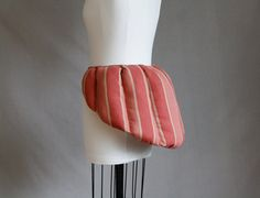 Striped 18th Century False Rump by RachelKerbyCouture on Etsy, $99.00