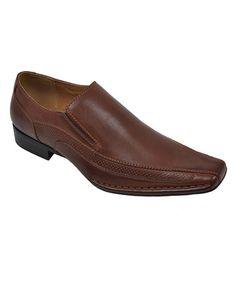 Look what I found on #zulily! Brown Fashion Style Slip-On Loafer #zulilyfinds