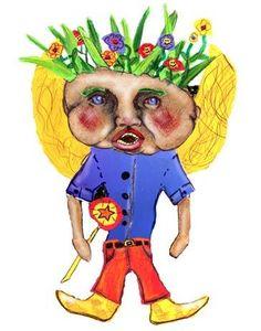 Peasbody - Illustration for Children's Storybook 2002