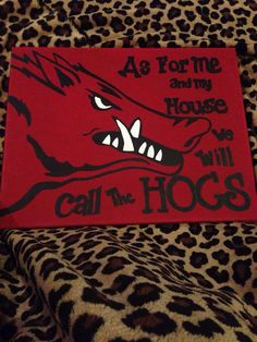 Canvas hog painting