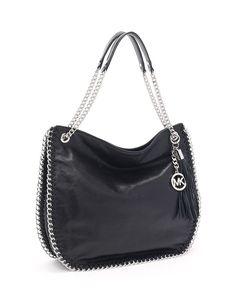 c96efab1c1 Michael Michael Kors Chelsea Large Leather Shoulder Bag Michael Kors Bag