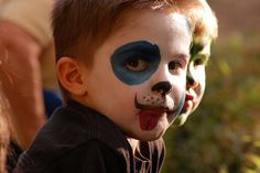 #kid #boy #painted face