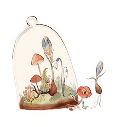 Kelsey Garrity-Riley Illustration: The Secret Life of Plants