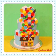 * Up Cake I recently created. Cake is completely edible.