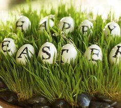 PB Easter decor